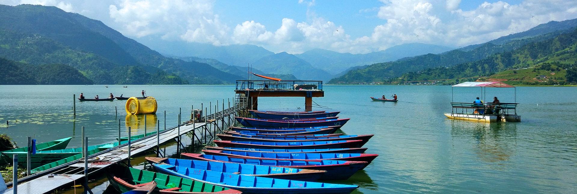 Phewa Tal lake in Pokhara