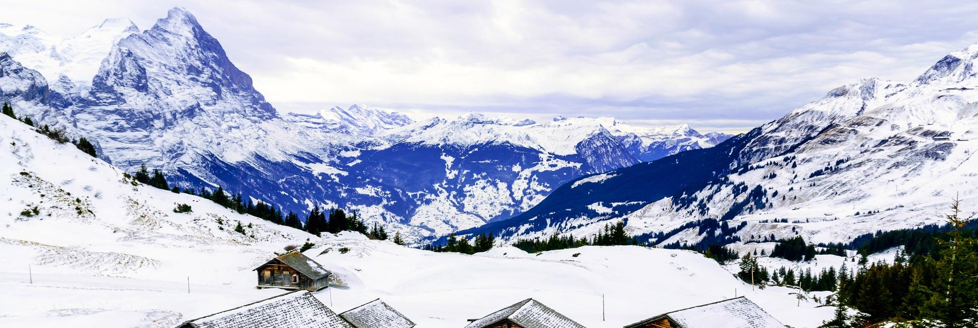Skiing in Grindelwald
