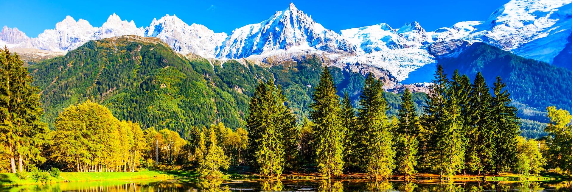 Scenic views around Zermatt