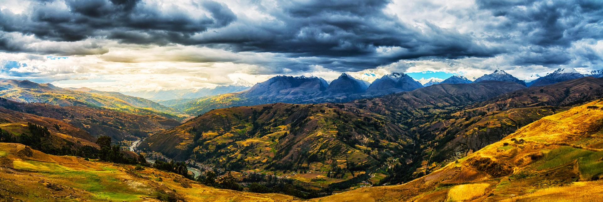 Landscape of Huaraz