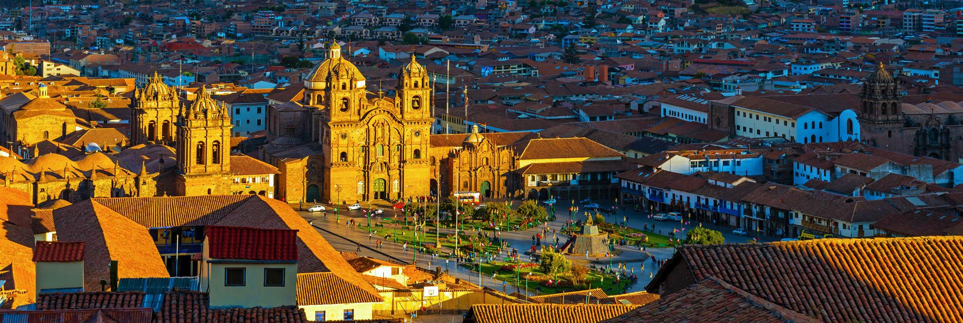 View of Cusco City