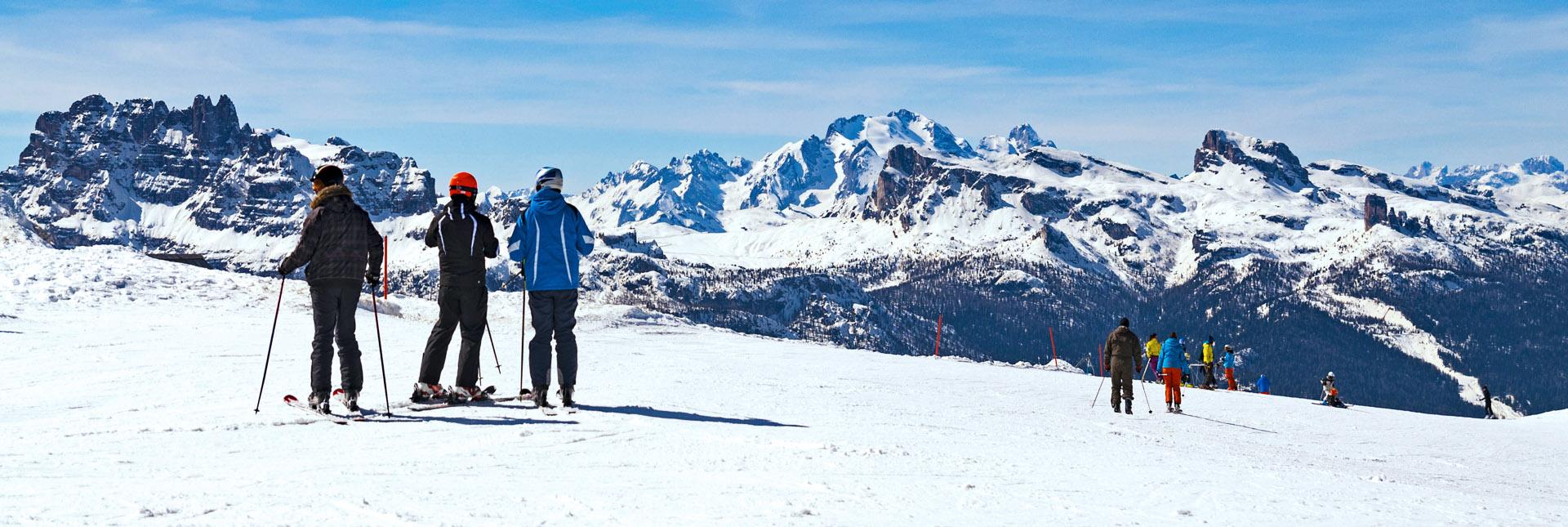 Cortina d'Ampezzo – Many off-piste slopes