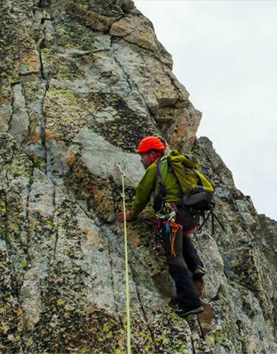 Climbing the Breithorn
