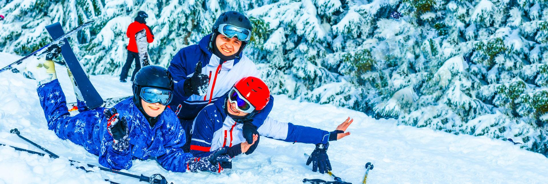 fun family time skiing around Zermatt