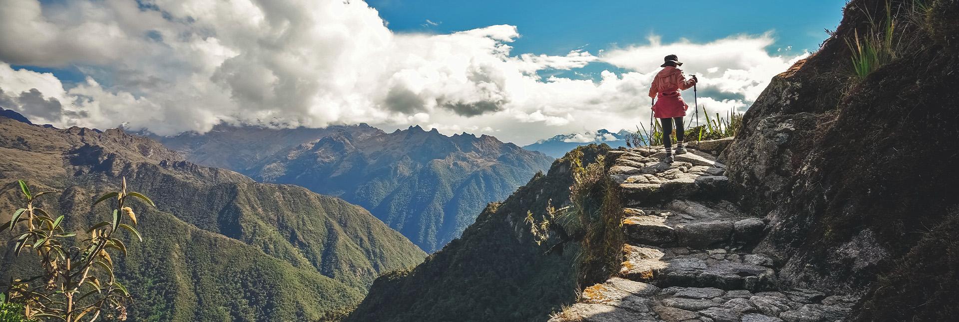 View during the Inca trail trek