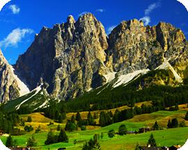 Guided Trekking in Italian Dolomites from Cortina d'Ampezzo  REI