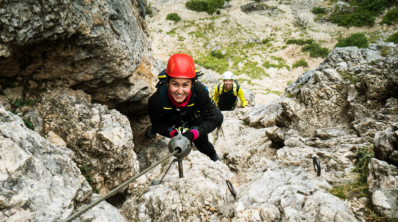 Via Ferrata Day Trips from Cortina d'Ampezzo