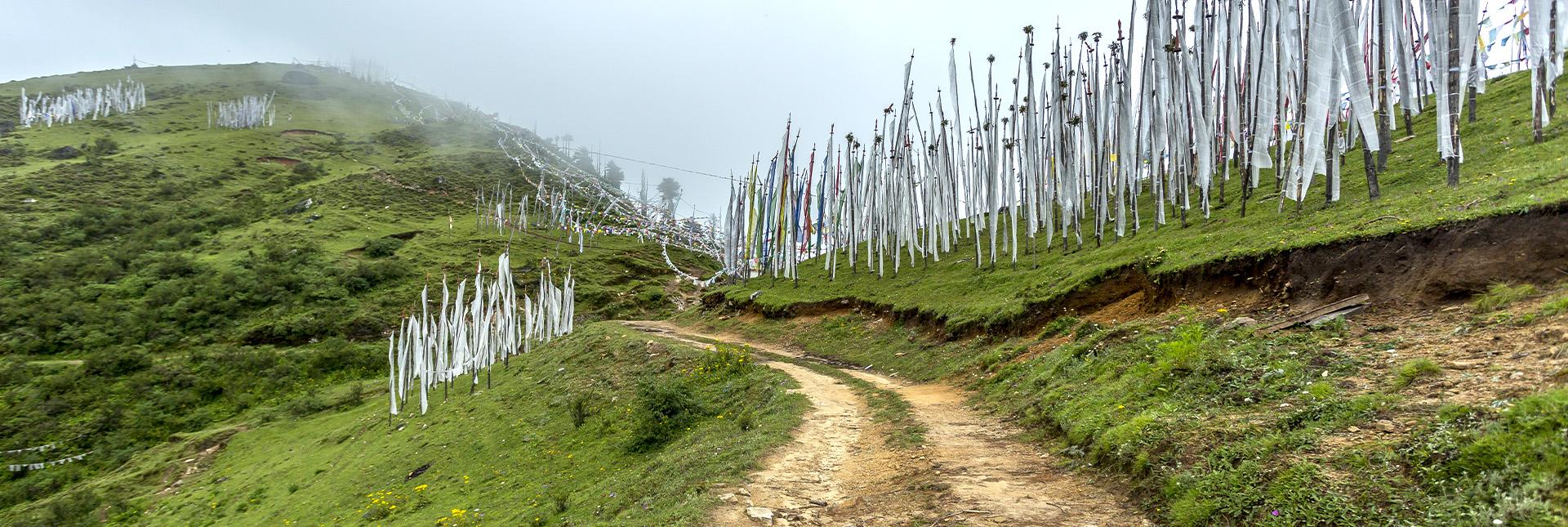 Chele La Trek route