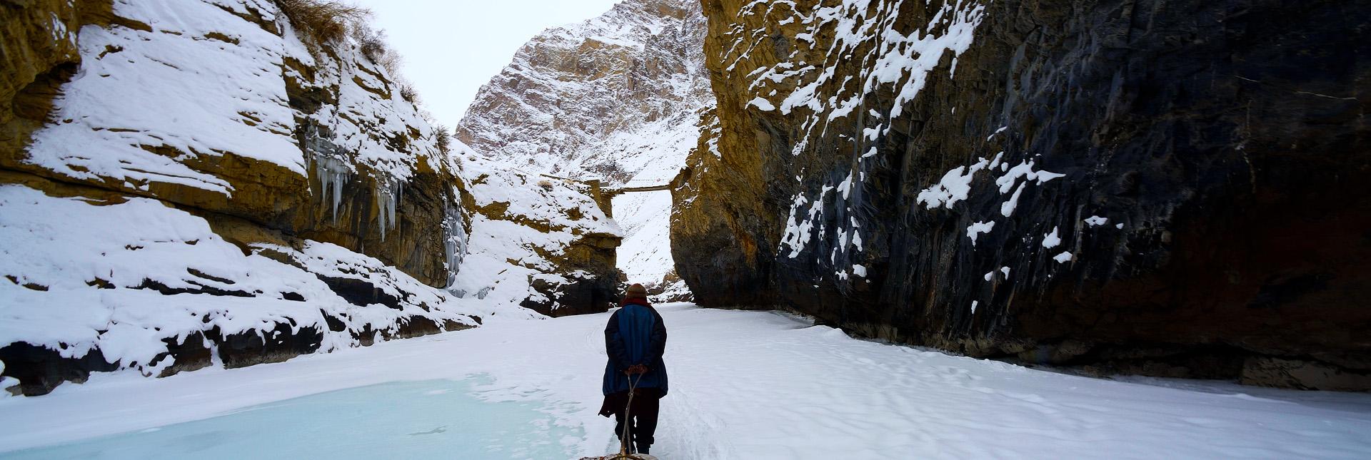 Chadar Trek – Walking on a frozen river