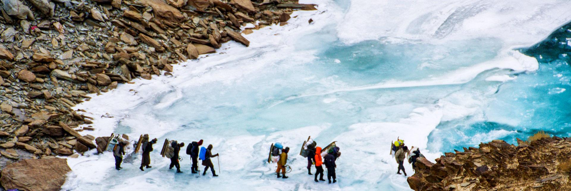 Chadar Trek – traversing a frozen Zanskar river