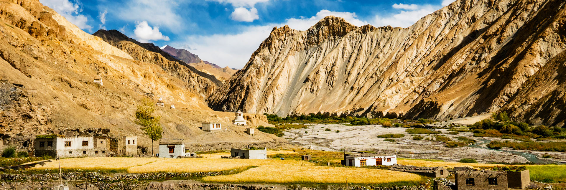 View during the Markha valley trek