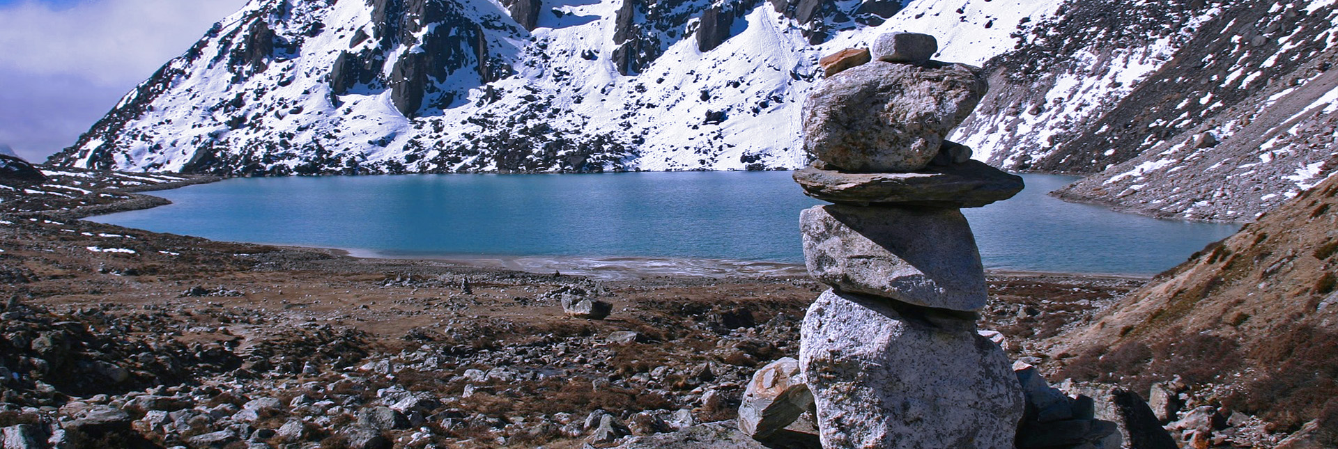 View of Gokyo lake