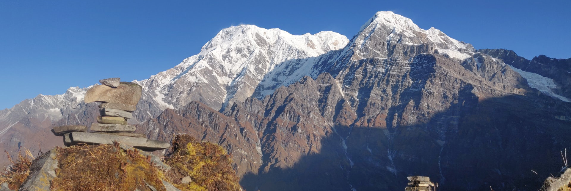 view during the trek