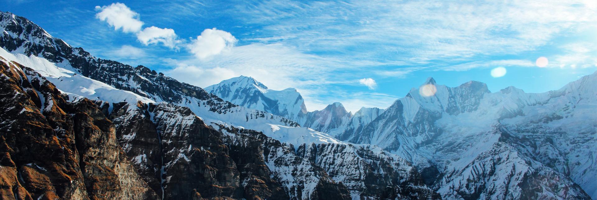 Views around Annapurna