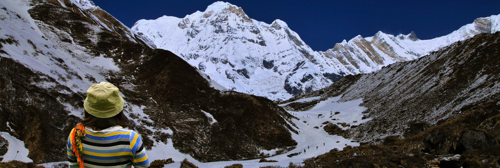 View from near the Annapurna base camp