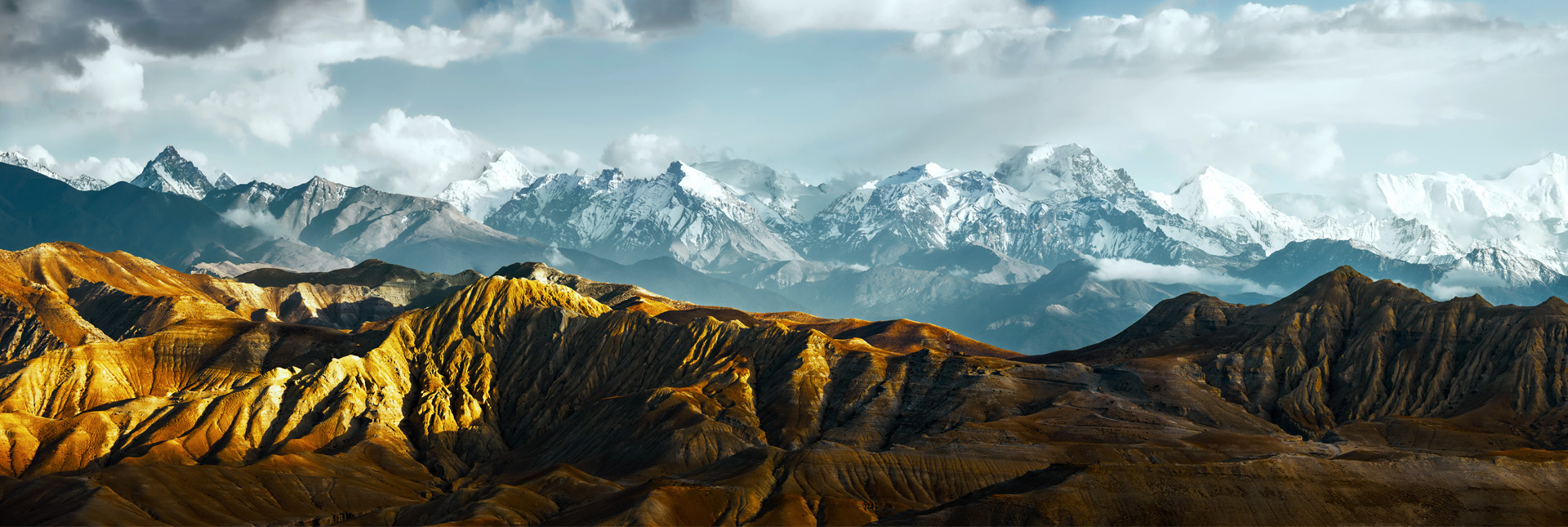 Majestic View during the Upper Mustang Trek