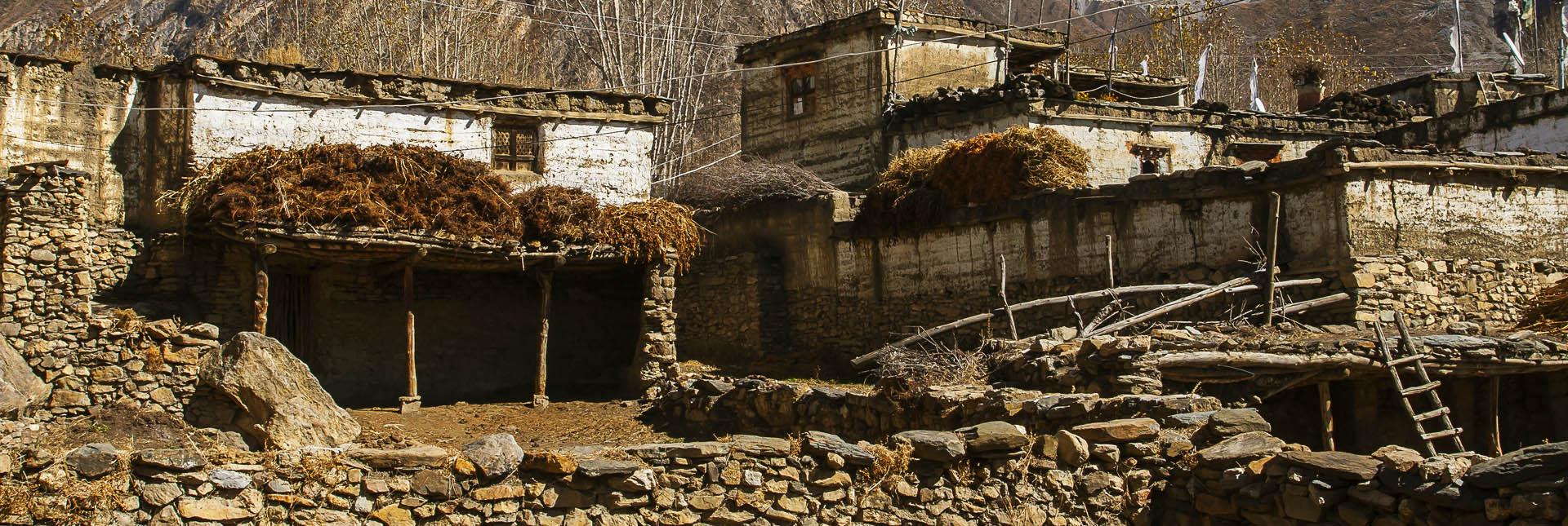 Village during the trek