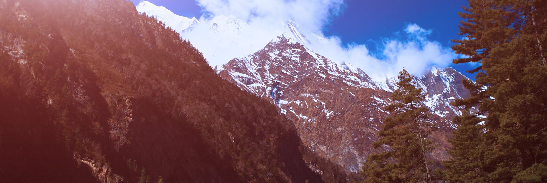 mesmerising views during the Dhaulagiri trek
